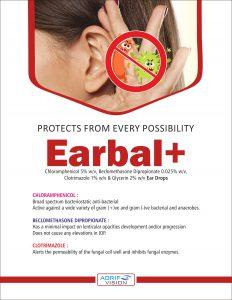 EARBAL+ EAR DROPS