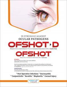 OFSHOT - D EYE EAR DROPS